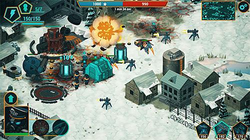 War alert: Red lords. Online RTS screenshot 2