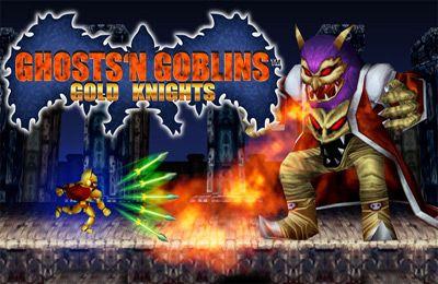 logo Fantasmas y Goblins contra Caballeros
