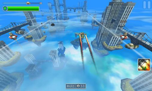 Arcade Sky to fly: Faster than wind für das Smartphone