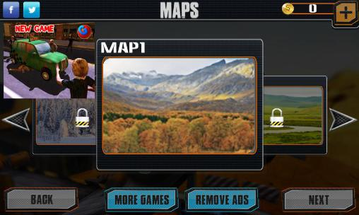 Simuladores Offroad hill climber legends para teléfono inteligente