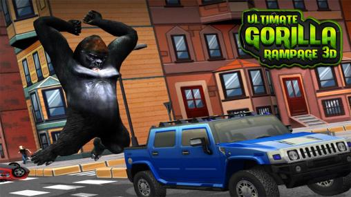 Ultimate gorilla rampage 3D screenshot 1