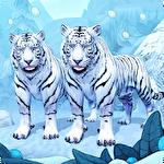 アイコン White tiger family sim online