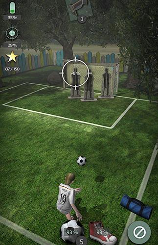 Online Willy the striker: Soccer für das Smartphone