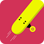 Hard skating: Flip or flop icon