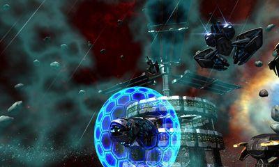 Flugspiele Star-Draft Space Control auf Deutsch