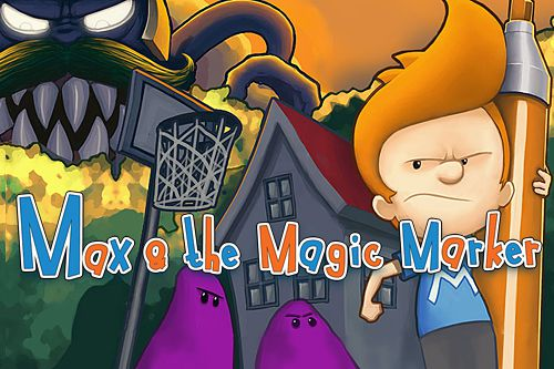 логотип Макс и волшебный маркер
