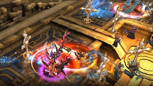 RPG-Spiele Rise of Ragnarok: Asunder für das Smartphone