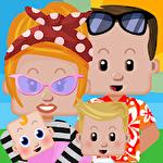 Family house icône