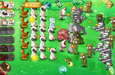 Screenshot Tierkrieg auf dem iPhone
