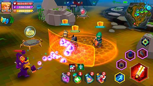 MOBA-Spiele Pixel wars: MMO action auf Deutsch