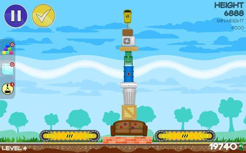 Trash tower для Android