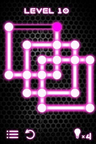 Screenshot Glühendes Puzzle auf dem iPhone