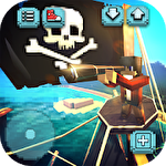 Pirate ship craft: Exploration and sea battles іконка