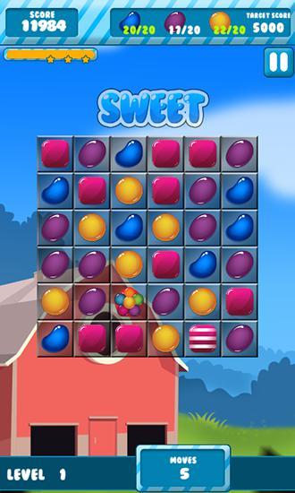 3 Gewinnt Candy sugar: Heroes auf Deutsch