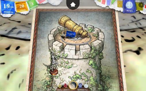 RPG-Spiele Steve Jackson's Sorcery! 3 für das Smartphone