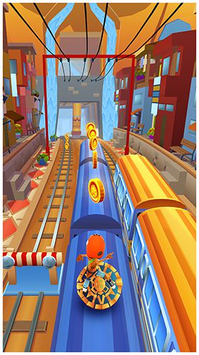 Subway surfers: Peru for iPhone for free