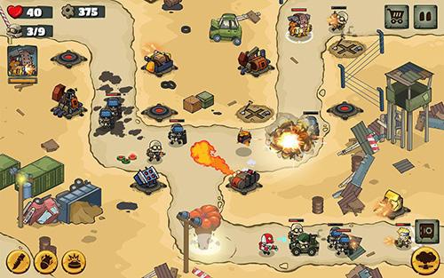 Metal soldiers TD: Tower defense für Android