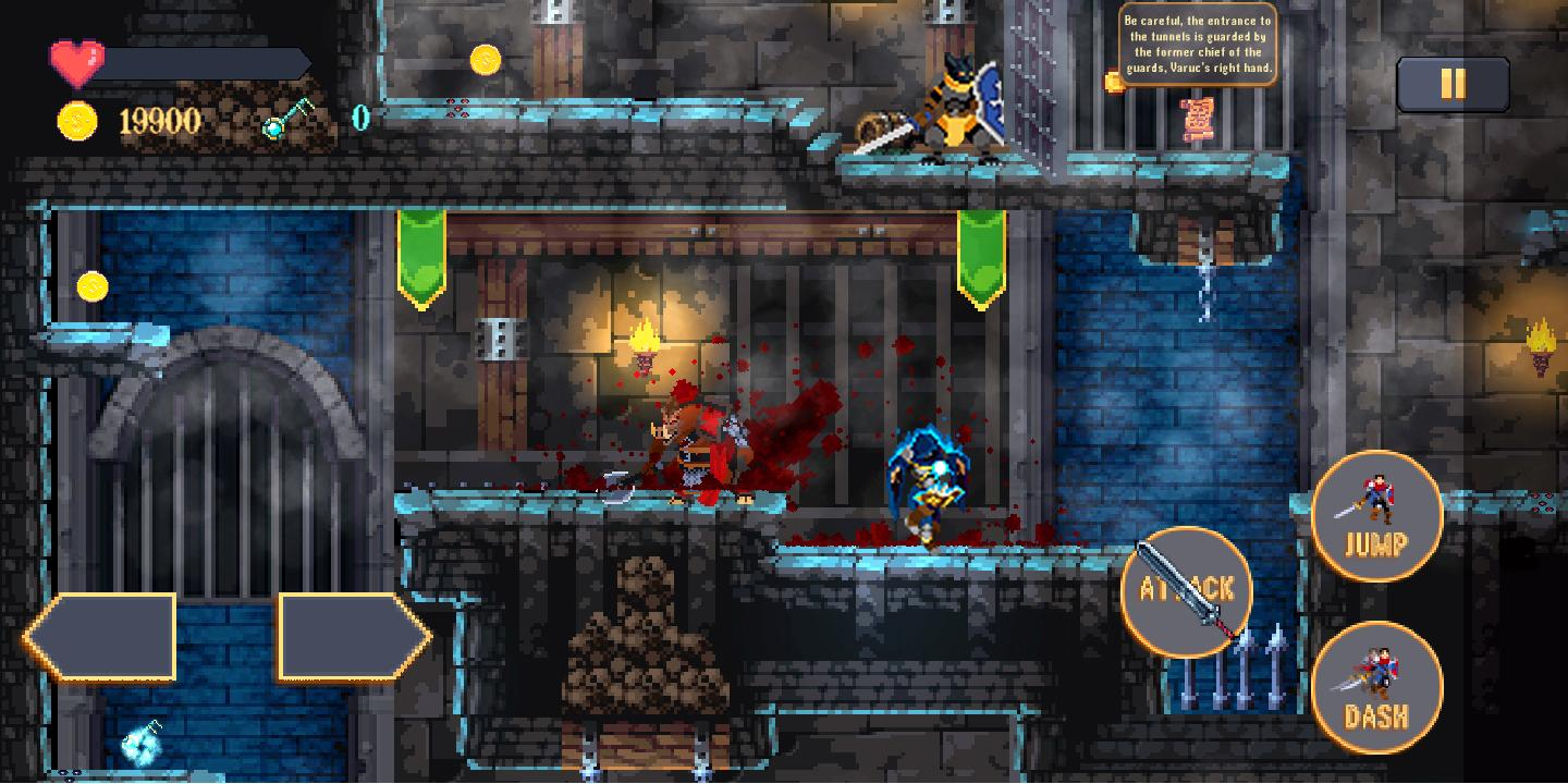 Castle of Varuc: Action Platformer 2D スクリーンショット1