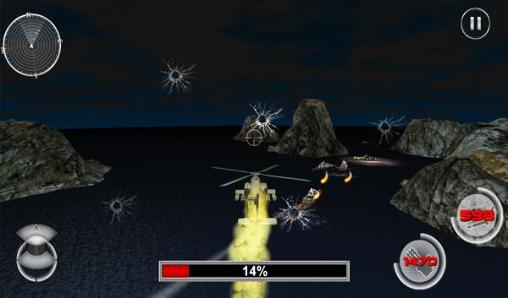 Navy gunship shooting helicopter pour Android