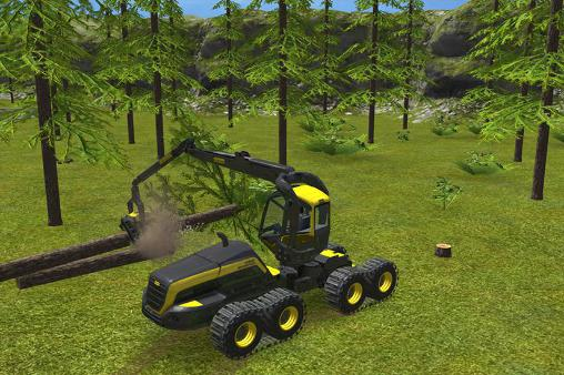 Simulation: spiel Farming simulator 16 für BlackBerry