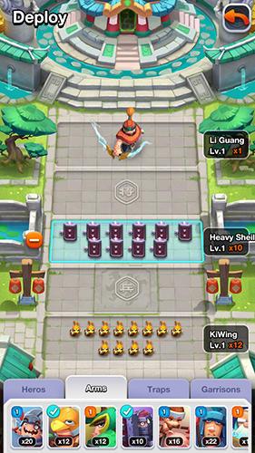 Onlinespiele Rapid clash für das Smartphone