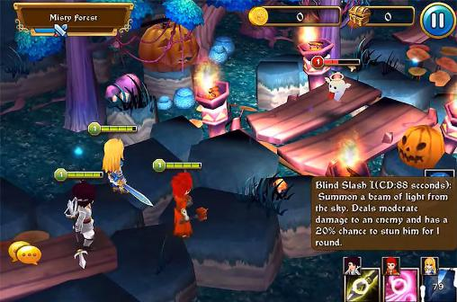 RPG Mighty warriors: Rise of the east pour smartphone