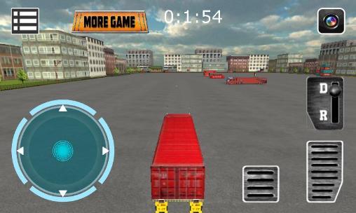 Truck driver 3D: Simulator auf Deutsch