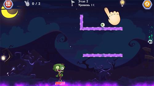 Logik Monstrium: Draw physics puzzle game für das Smartphone