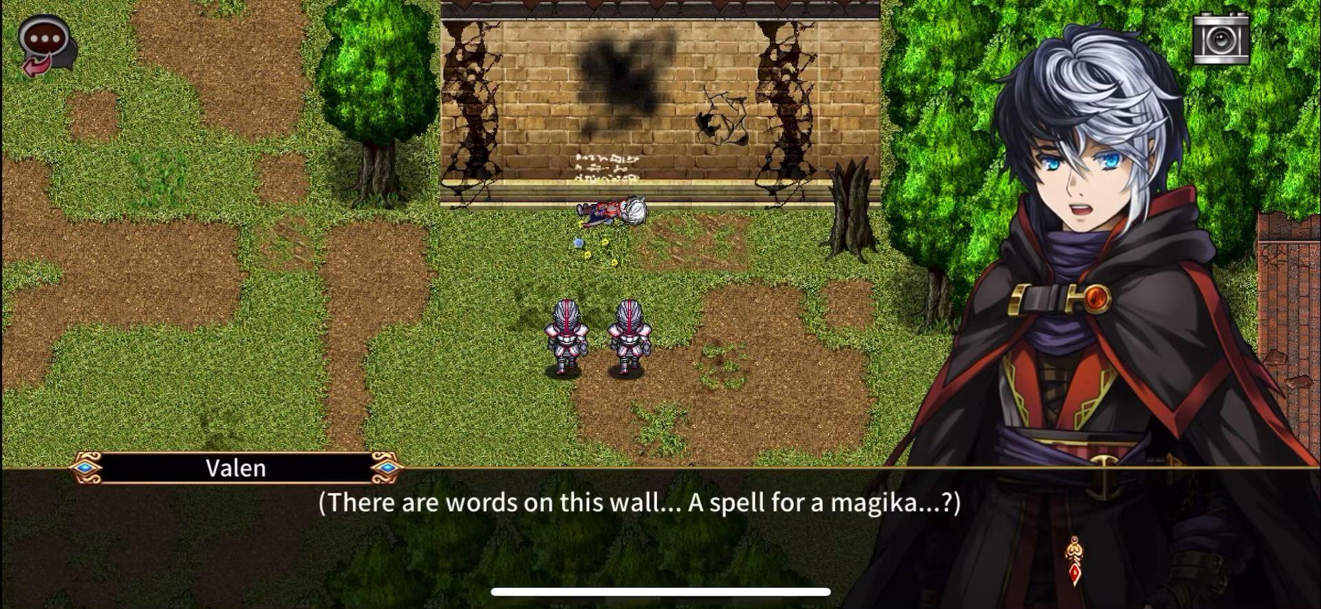 RPG Miden Tower captura de pantalla 1