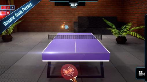 Sports Table tennis 3D: Live ping pong for smartphone