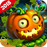 Halloween witch: Fruit puzzle Symbol