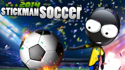 logo Strichmännchen Fußball 2014