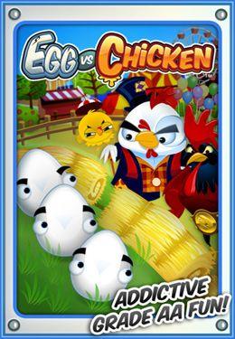 logo Eier gegen Hühner