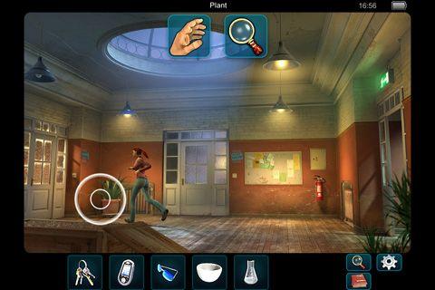 Screenshot Geheime Akten: Tunguska auf dem iPhone