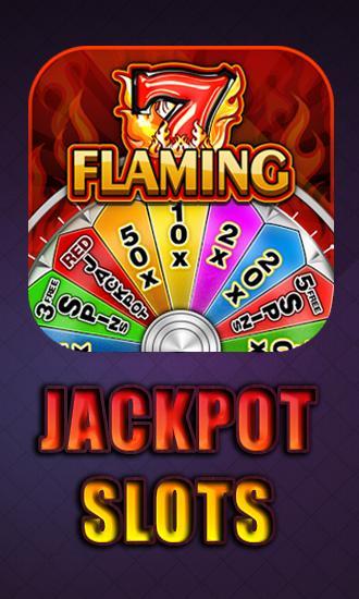 Flaming jackpot slots icône