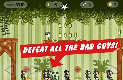 Juegos de arcade: descarga Hombre-estornudo: La fuga del planeta de estornudos para tu teléfono