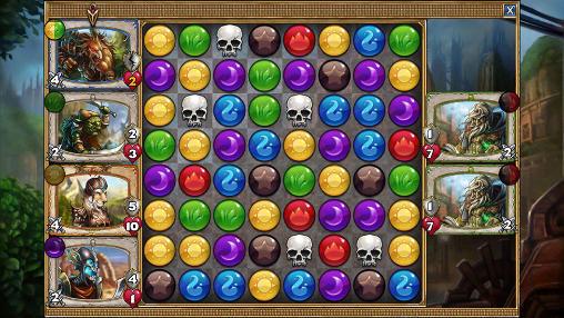 RPG Gems of war für das Smartphone
