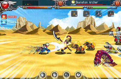 Fighting games: download HYBRID 2: Saga of Nostalgia to your phone