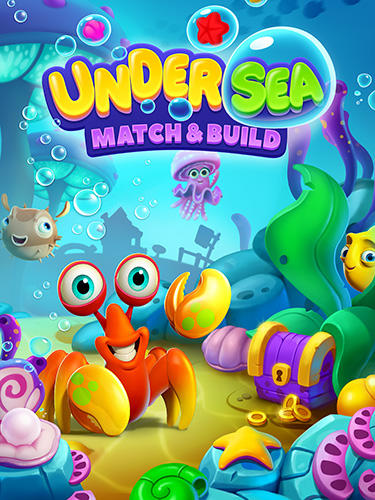 Undersea match and build captura de pantalla 1