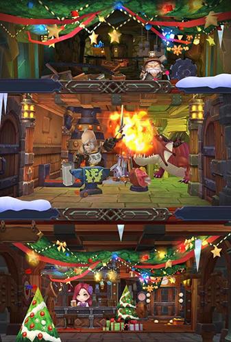 Strategie RPG Castle of legends auf Deutsch