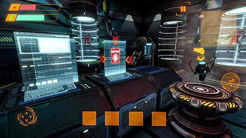 Alien attack: Spaceship escape auf Deutsch