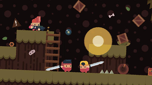 Dusty the great: Action-platformer скриншот 1