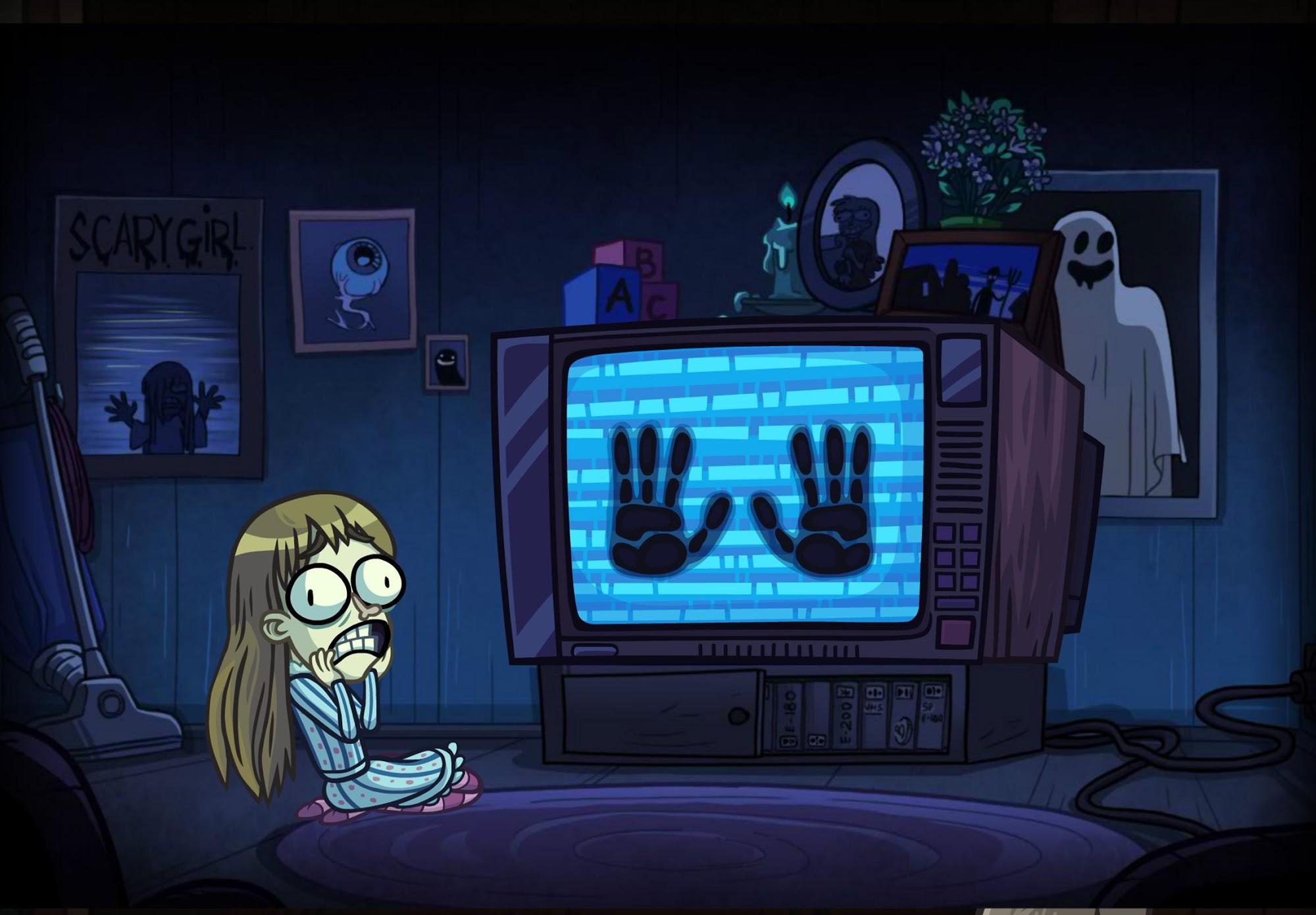 Troll Face Quest: Horror 3 capture d'écran 1