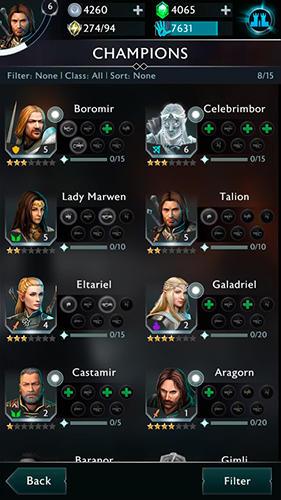 RPG Middle-earth: Shadow of war für das Smartphone