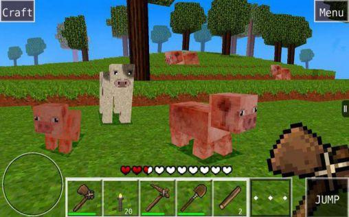 Simulator-Spiele Worldcraft für das Smartphone