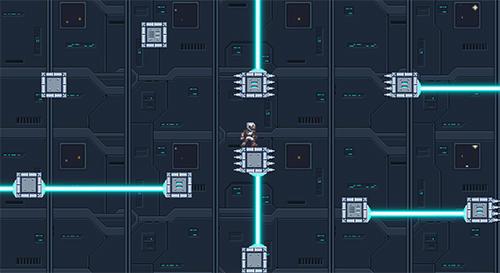 Pixel art The Nebulon trials in English