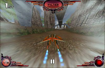 Racing games: download Future Racer to your phone