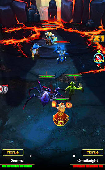 RPG Dot alliance 3D pour smartphone