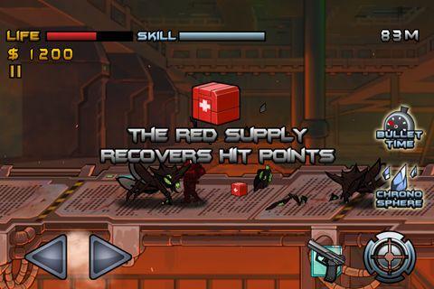 Captura de pantalla La invasión de zergs en iPhone