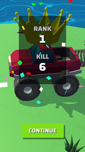 Arcade-Spiele Truck.io für das Smartphone